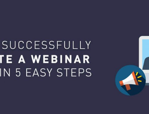 How to successfully promote a webinar online in 5 easy steps.